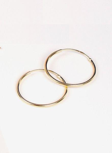 """Jukserei Earring """"Hoops"""" Gold"""