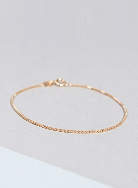 """Jukserei Bracelet """"Smooth"""" Gold"""