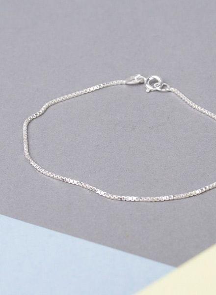 "Jukserei Armband ""Smooth"" Silber - hergestellt aus 925er Sterling Silber"