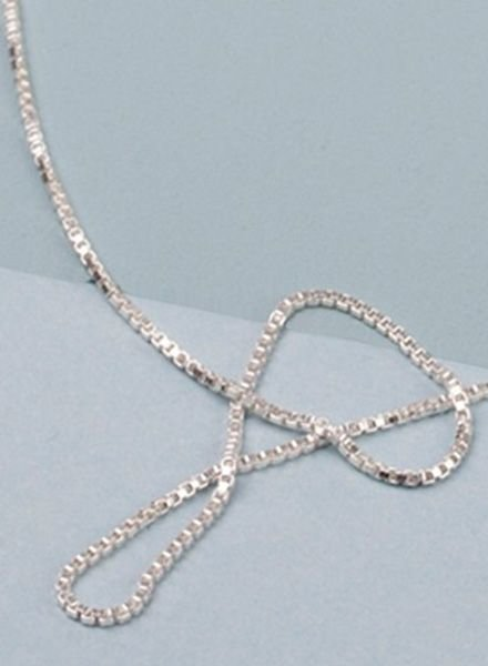 """Jukserei Necklace """"Smooth"""" Silver"""