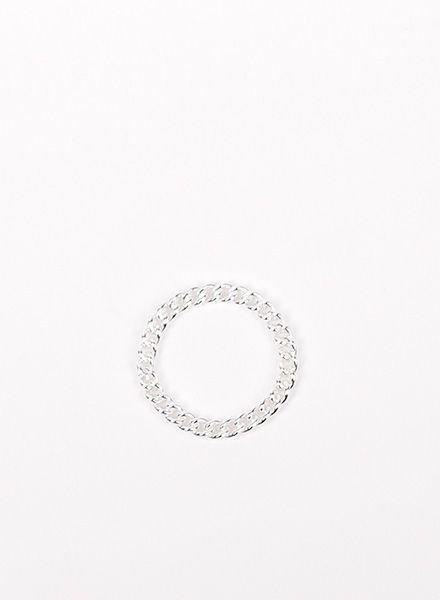 """Jukserei Ketten-Ring """"Grumetta"""" Silber"""