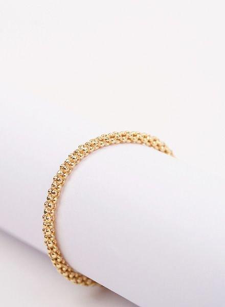 "Jukserei Chain ring ""Acorn"" Gold"