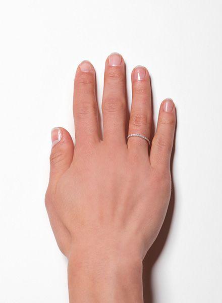 "Jukserei Ketten-Ring ""Acorn"" Gold - handgefertigt aus vergoldetem 925er Sterling Silber"