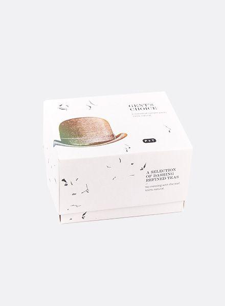 Paper & Tea Tee Gent´s choice I Auswahl 6 individueller Tees speziell für IHN