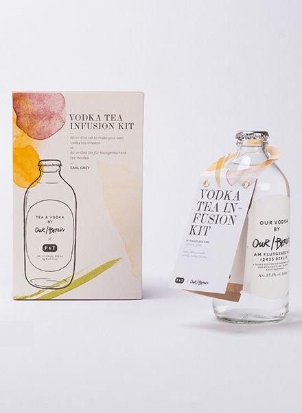 """Paper & Tea VODKA TEA INFUSION """"Golden Earl"""""""