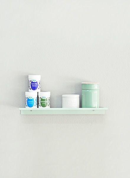"""Kolor Wall shelf """"Z-shelf mint"""""""