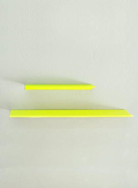 """Kolor Wand-Regal """"z-shelf"""" neon"""