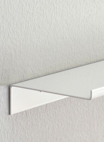 """Kolor Wall shelf """"Z-shelf"""" - Shelf white powder coated"""