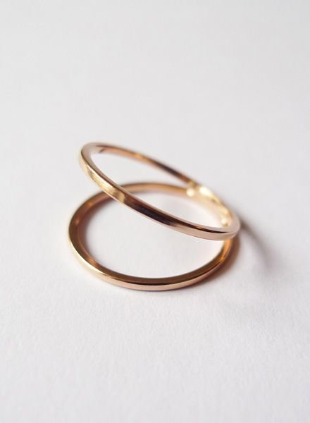 """Felicious Ring """"Hoops Rose"""""""