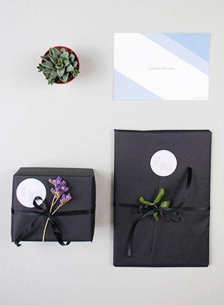 Geschenkverpackung - liebevoll verpackt !