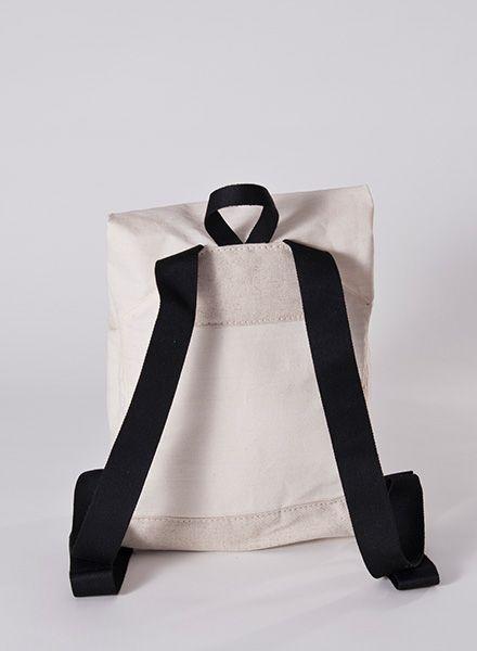 "Hänska Backpack ""Catamaran Natural"" - handmade in Berlin"