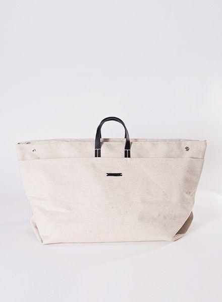 Hänska Light beige linen bag for weekend trips - also wearable as backpack
