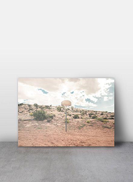 "Mania Poster ""Streetball courts 1 Arizona USA"" - Moderner Kunstdruck"