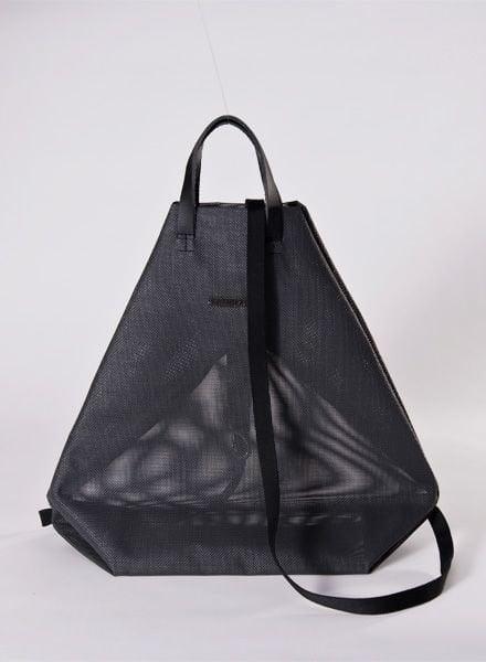 """Hänska Backpack """"Moire black"""""""