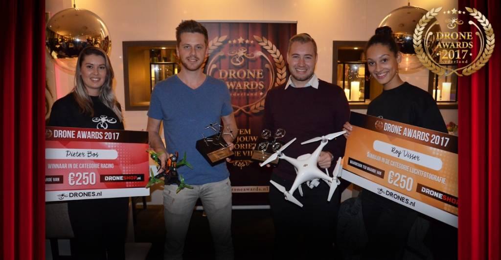 De winnaars van de Dutch Drone Awards zijn bekend