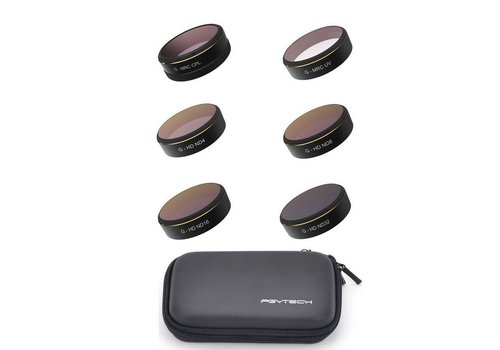 PGYTECH PGYTech Phantom 4 Pro UV ND4/8/16/32 CPL Filter Set (6st)