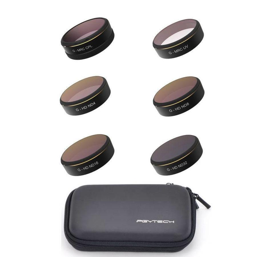 PGYTech Phantom 4 Pro UV ND4/8/16/32 CPL Filter Set (6st)