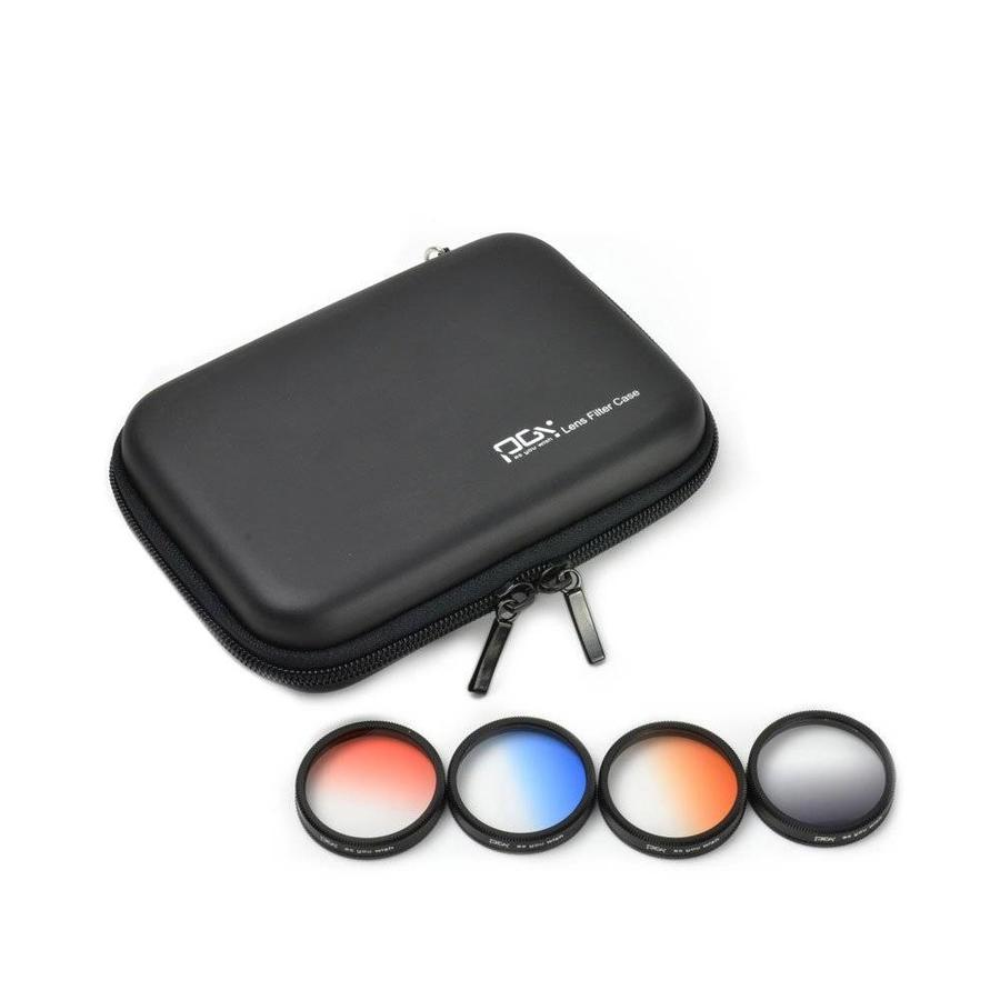 PGYTech Phantom 4 Pro Graduated ND Filter Set 4-pack (Grijs, Oranje, Blauw, Rood)