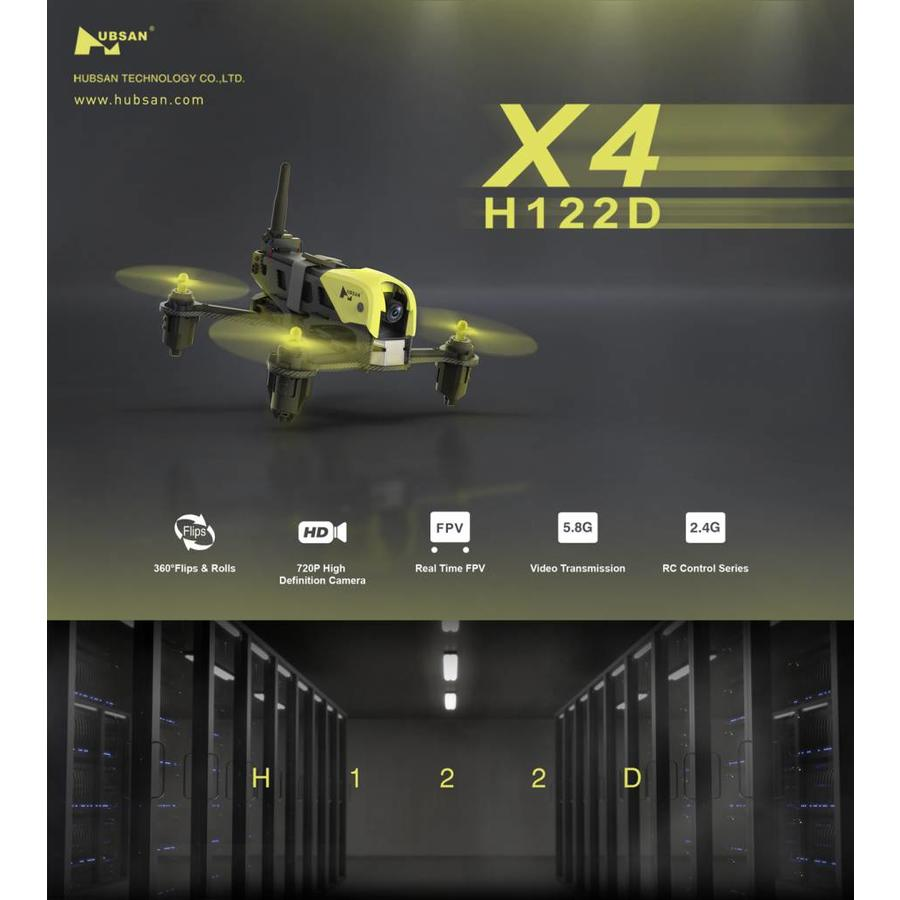 H122D X4 storm racing drone