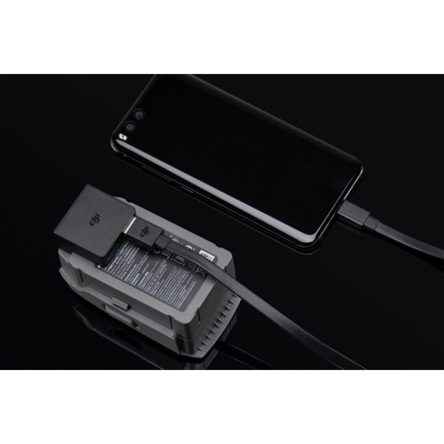 DJI Mavic 2 batterij naar  Power Bank adapter