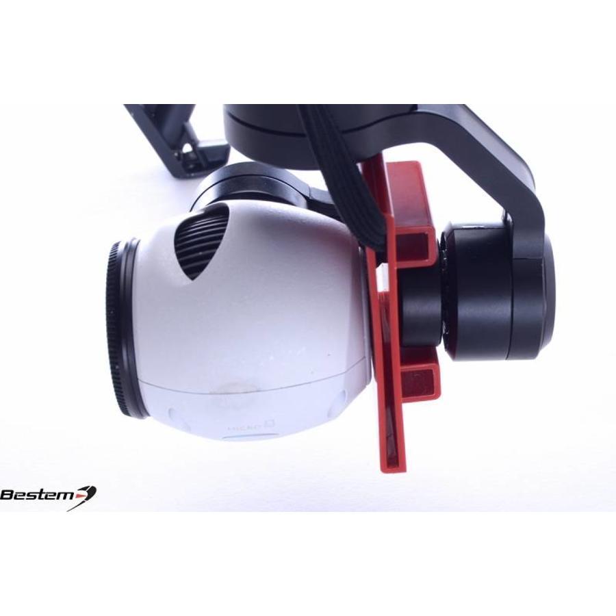 Bestem Aerial DJI Inspire 1 Gimbal Lock