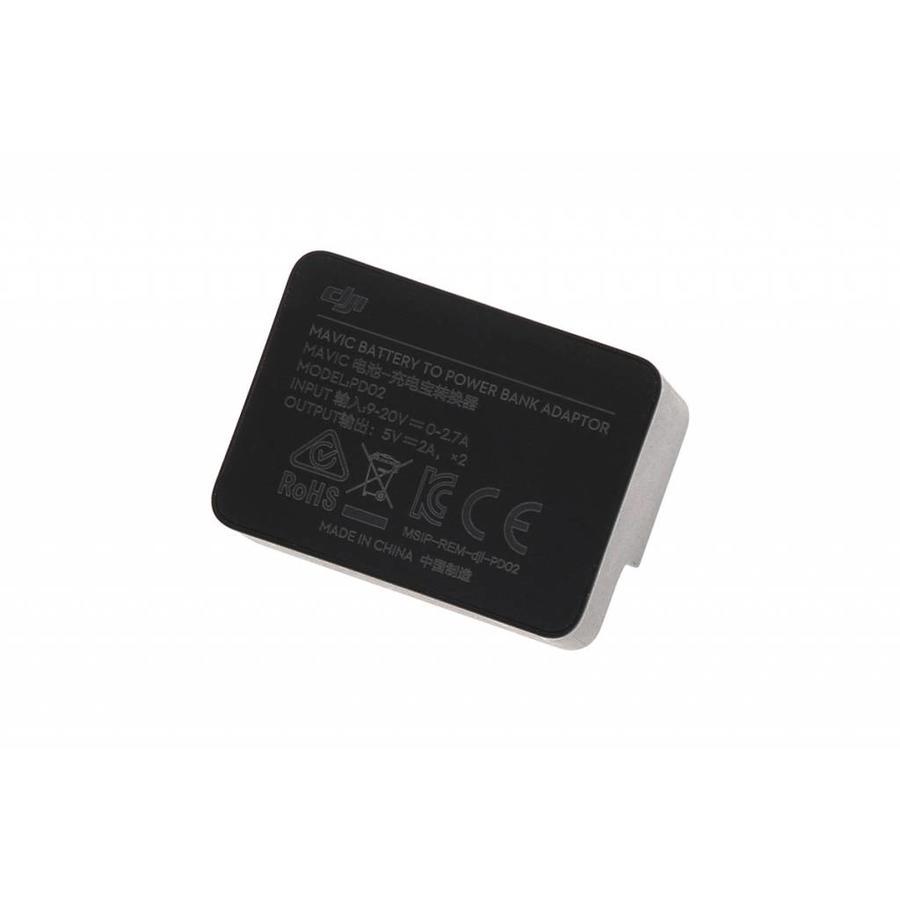 DJI Mavic Pro Battery to Power Bank Adaptor
