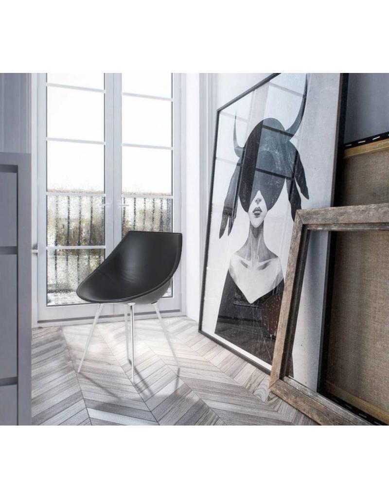 Driade Driade Lago stoel / fauteuil (leer)