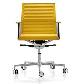 Luxy Luxy Nulite bureaustoel leer ribbed
