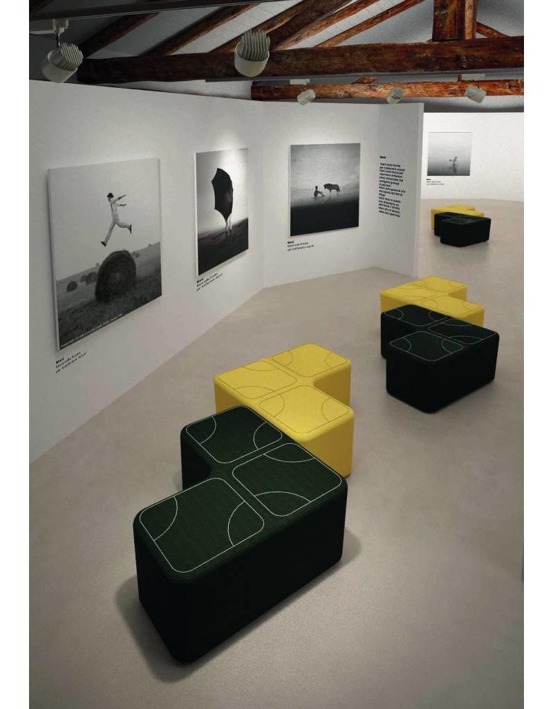 Luxy Luxy Puzzle modulaire bezoekersstoel