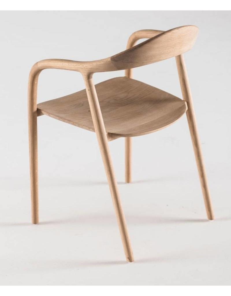 Houten Stoel Armleuning.Artisan Neva Houten Design Eetkamer Restaurantstoel