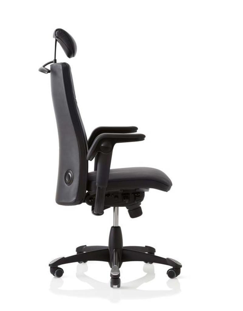 HÅG HAG Tribute 9031  leren bureaustoel met hoge rugleuning