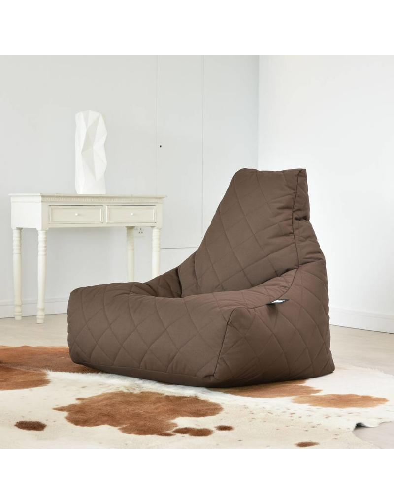 Extreme Lounging quilted zitzak