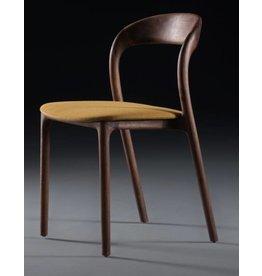 Artisan meubels Artisan Neva houten stoel zonder armleggers met kussen