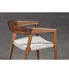 Artisan Artisan Tesa houten stoel linnen