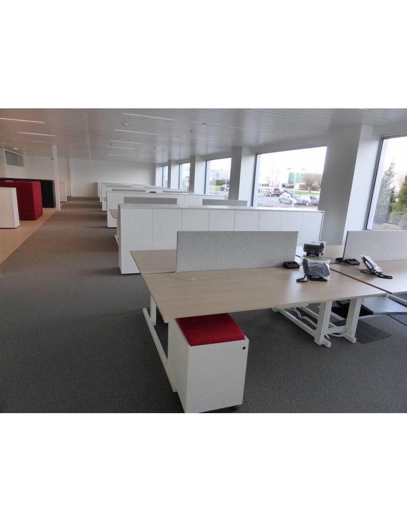 Bulo Bulo grID modulair bureaueiland met vaste hoogte
