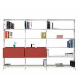 Alias Alias Aline modulaire boekenkast met laden