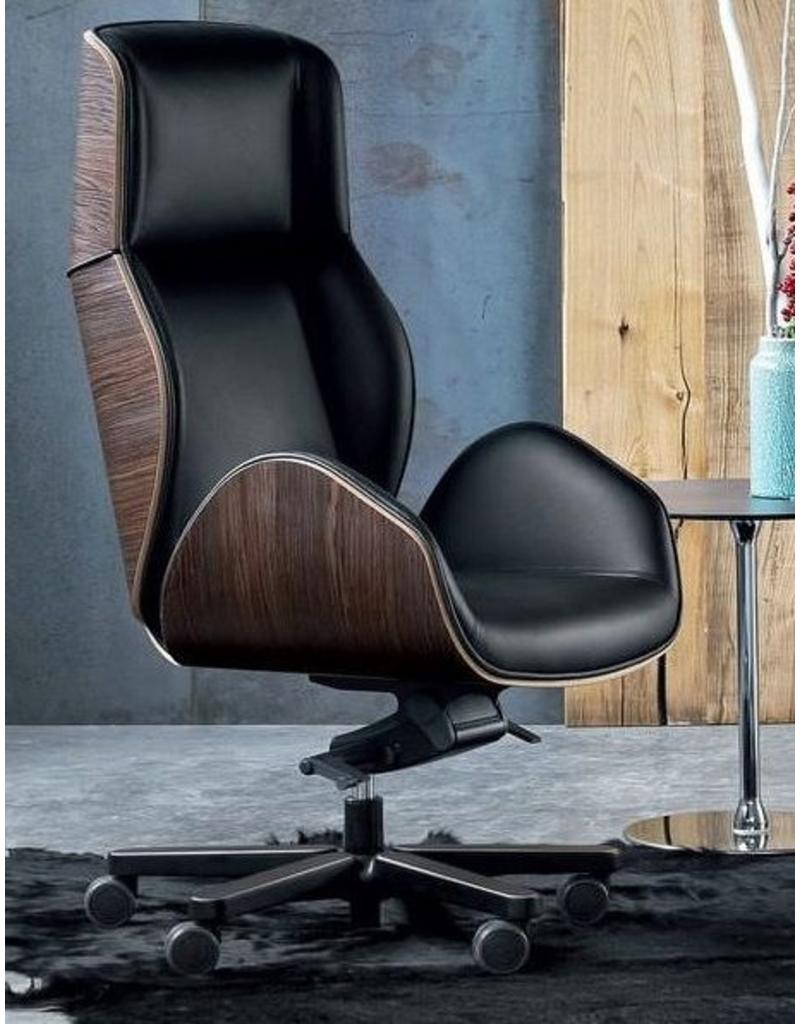 Luxe Leren Bureaustoel.Vaghi Suoni Bureaustoel Design Online Meubels