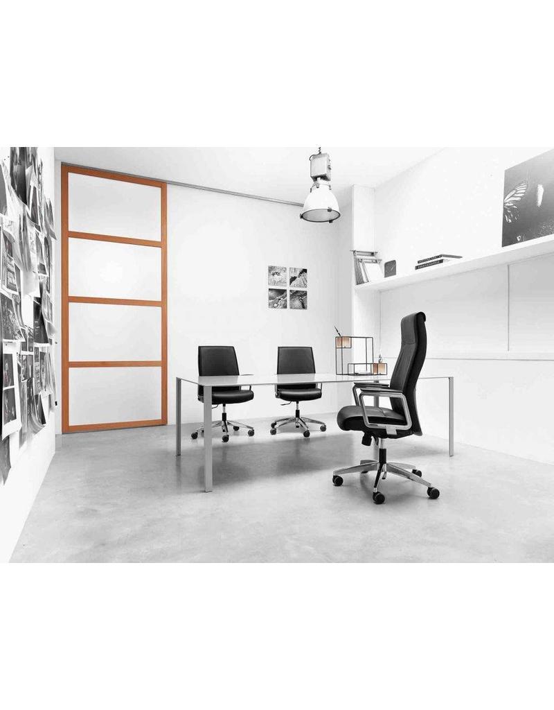 Vaghi Vaghi Maeva luxe leren bureaustoel
