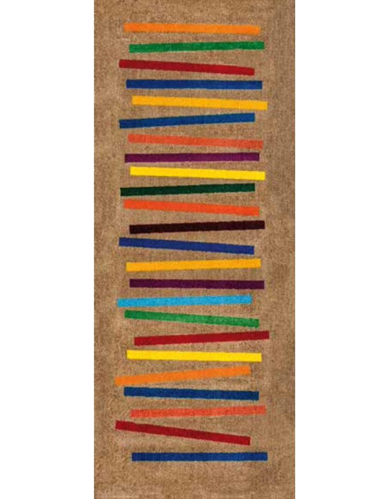 Kleen-Tex Schoonloopmat Mixed Stripes