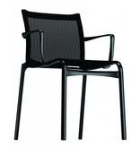 Alias Alias 441 bigframe gelakt aluminium stoel met armleuningen