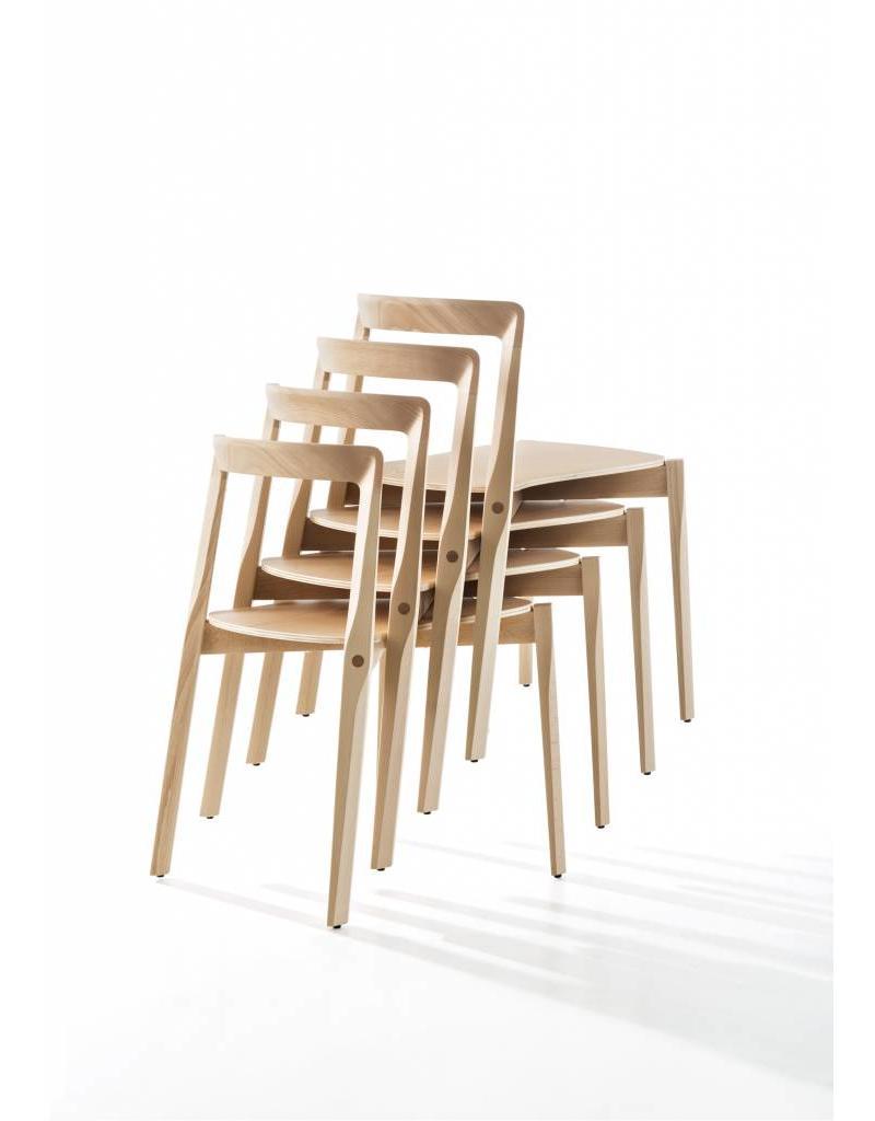 B-Line B-Line Helix beukenhouten stoel