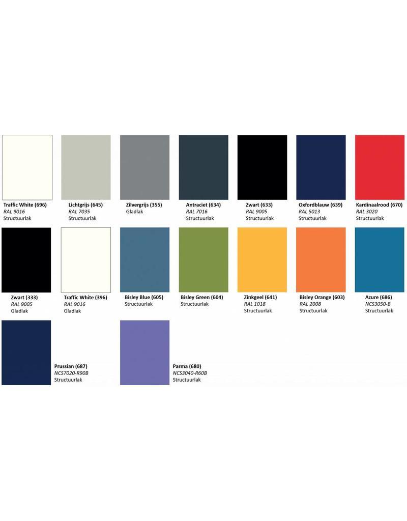 Bisley Bisley Premium verrijdbaar ladeblok 3 materiaalladen