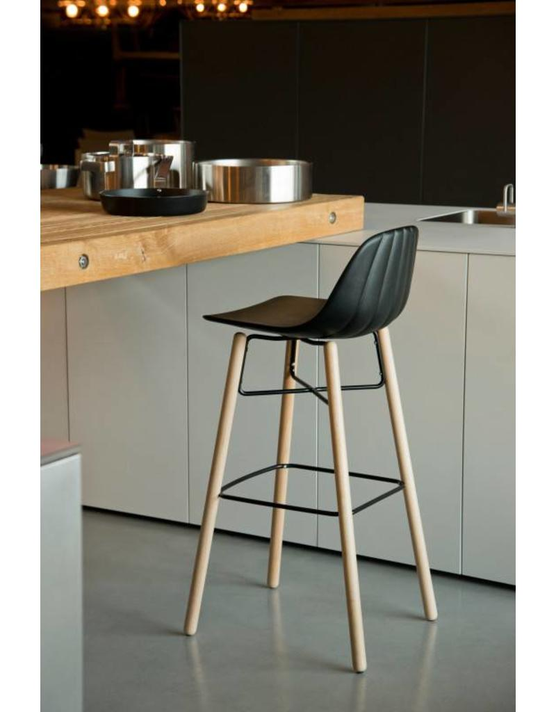 Chairs & More Chairs & More Babah barkruk met houten poten