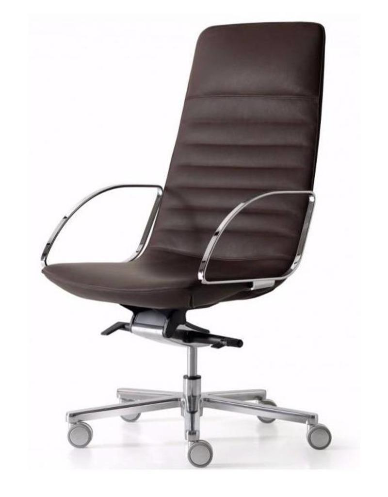 Quinti Quinti Amelie Slim bureaustoel hoge rug