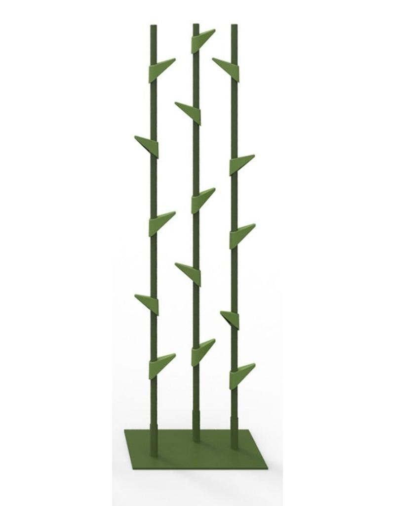 Cascando Cascando Bamboo 3 staande kapstok, 178 cm hoog, 15 haken
