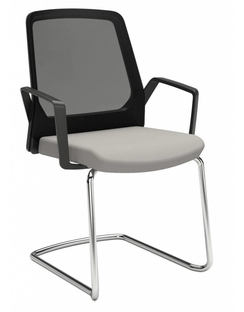 Interstuhl Interstuhl BUDDYis3 bezoekersstoel met armleuningen