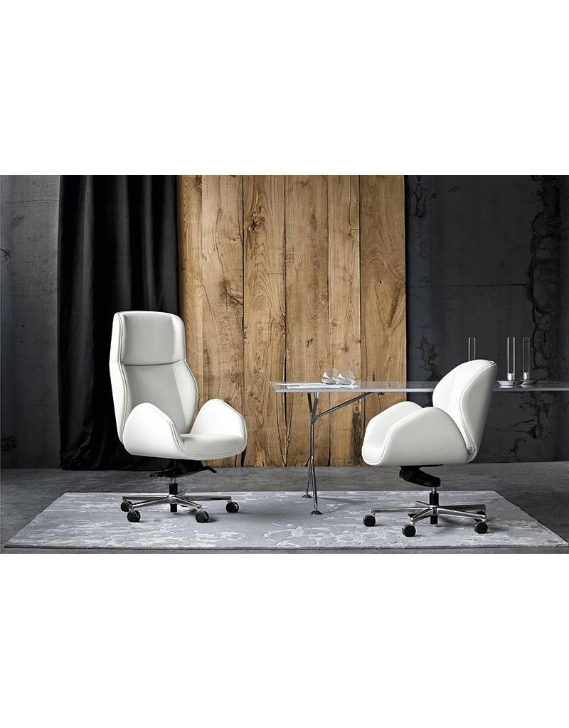 Vaghi Vaghi Suoni luxe leren bureaustoel