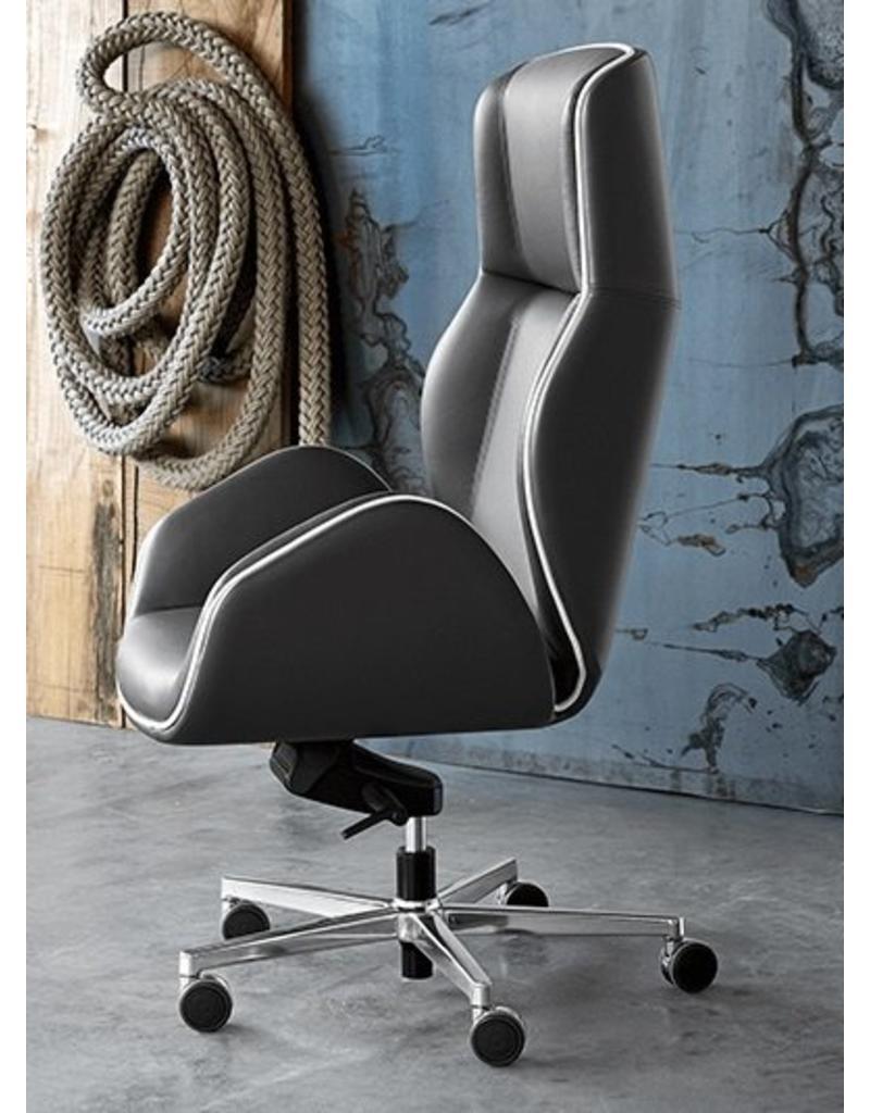 Luxe Leren Bureaustoel.Vaghi Suoni Leren Bureaustoel Design Online Meubels