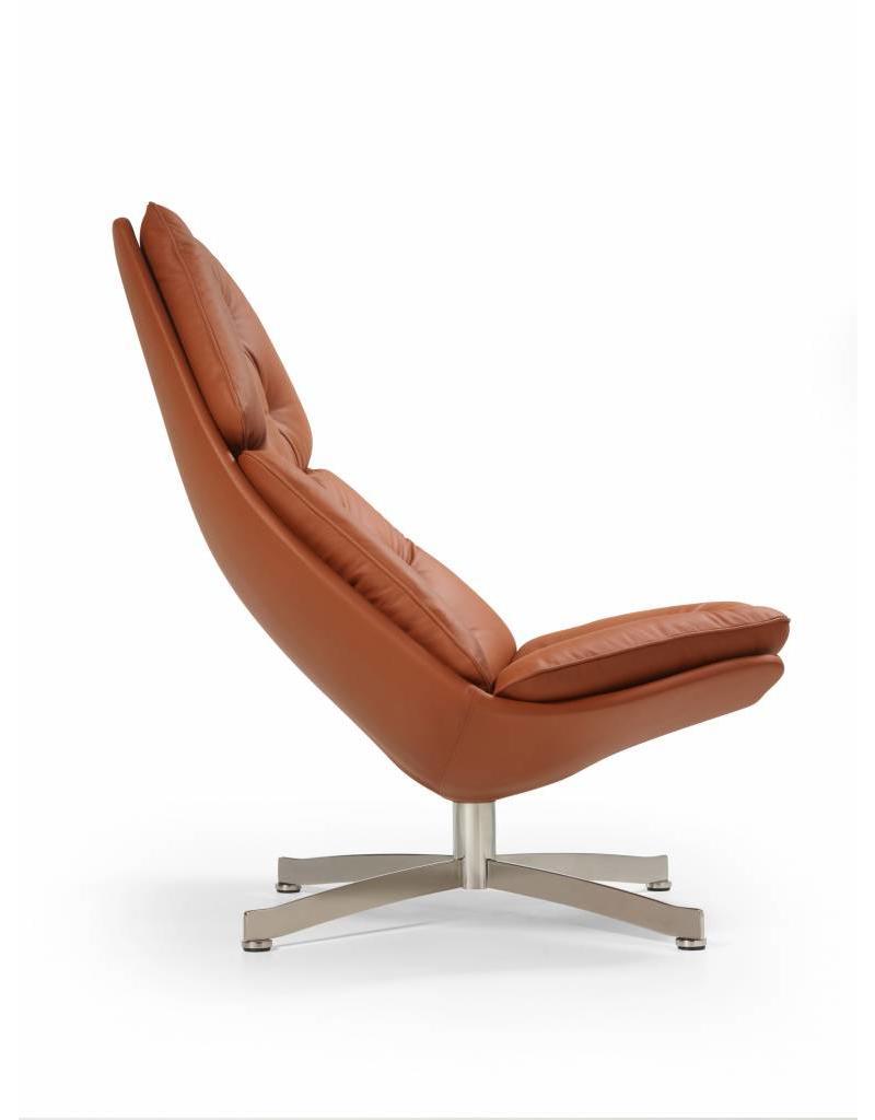 Artifort Artifort F 587 leren lounge chair