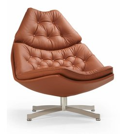 Artifort Artifort F 587 leren lounge chair